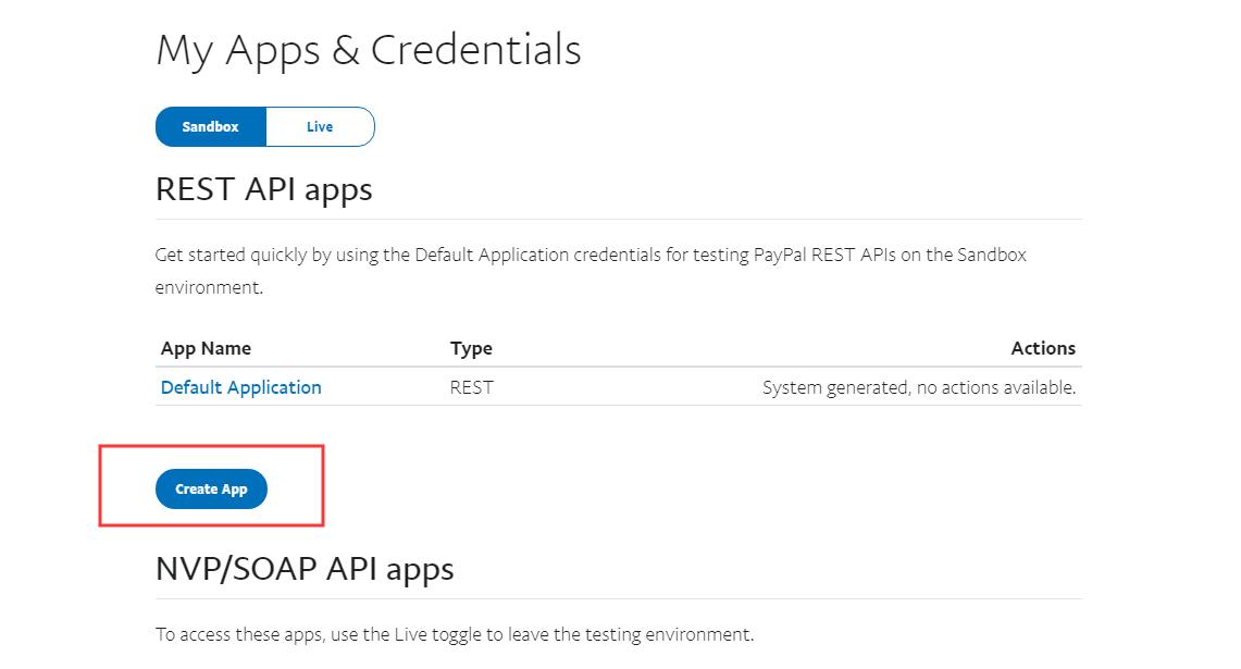 PayPal 第三方登录API申请